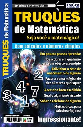 Estudando Matemática Ed. 02 - Truques de Matemática  - EdiCase Publicações