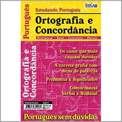 Estudando Português Ed. 01 - Ortografia e Concordância  - Case Editorial