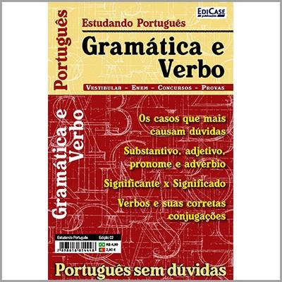 Estudando Português Ed. 02 - Gramática e Verbo  - Case Editorial