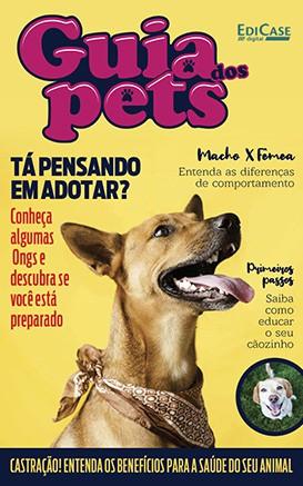 Guia dos Pets Ed. 03 - Tá pensando em adotar? - PRODUTO DIGITAL (PDF)  - EdiCase Publicações