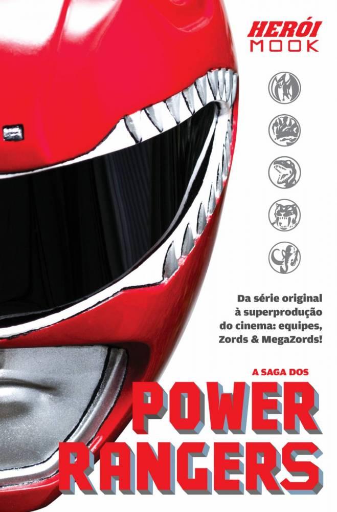 HERÓI MOOK - A SAGA DOS POWER RANGERS  - EdiCase Publicações