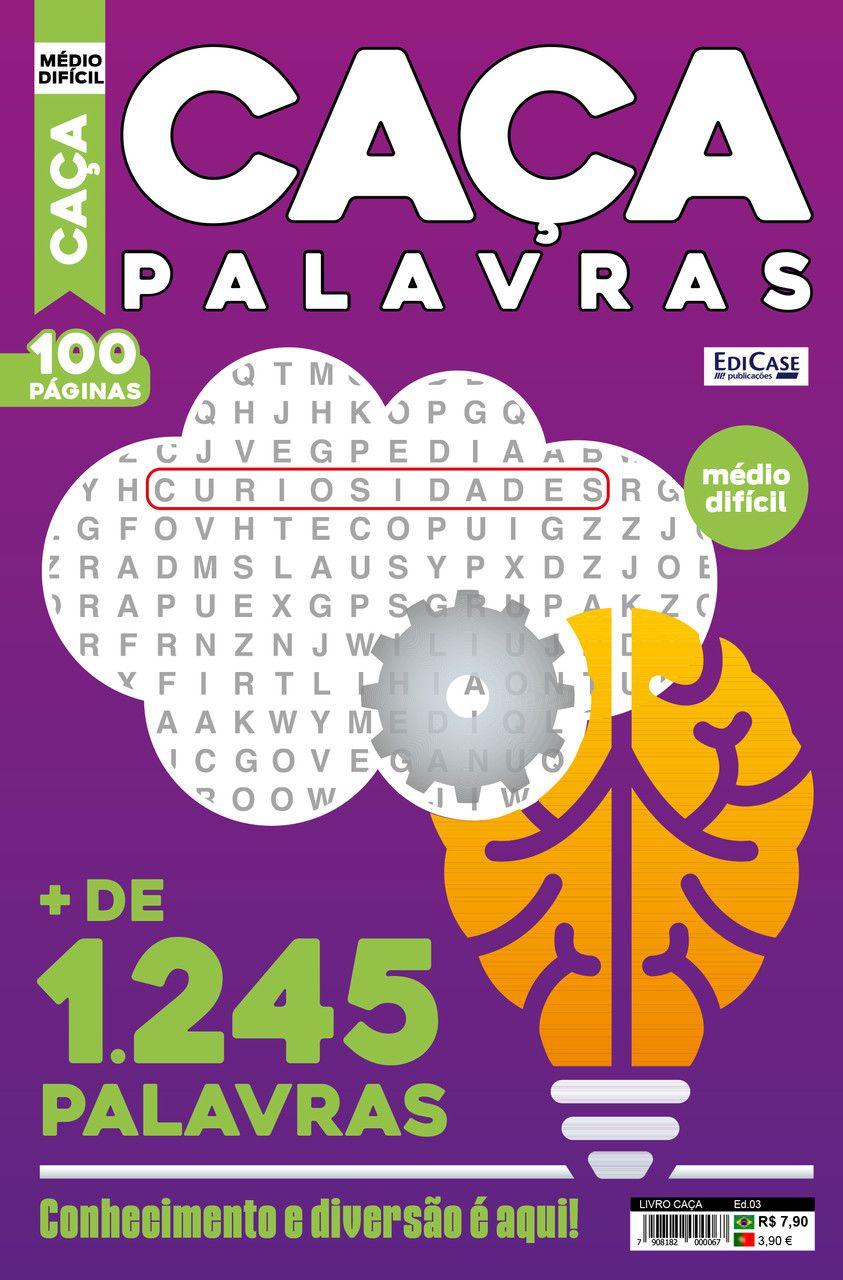 Livro Caça Ed. 03 - Médio/Difícil   - EdiCase Publicações