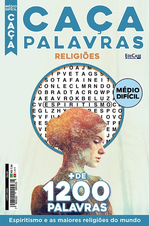 Livro Caça Ed. 09 - Médio/Difícil - Espiritismo e As Maiores Religiões do Mundo    - EdiCase Publicações