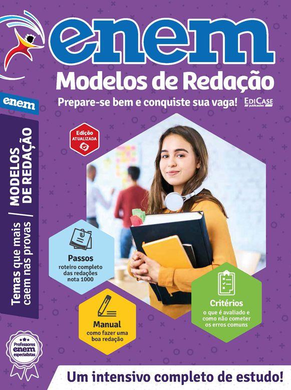 Livro ENEM 2019 Ed. 05 - Modelos de Redação  - EdiCase Publicações