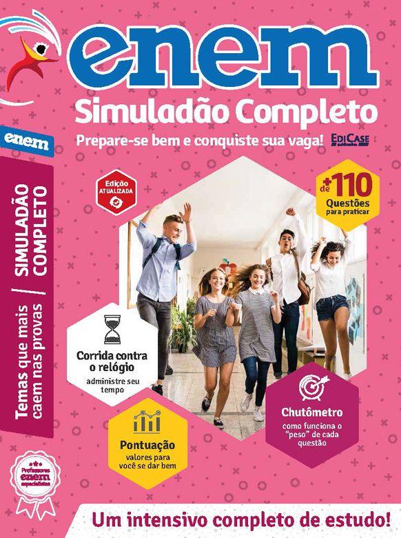 Livro ENEM 2019 Ed. 06 - Simuladão Completo  - EdiCase Publicações