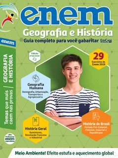 Livro ENEM 2020 Ed. 03 - Geografia e História - PRODUTO DIGITAL (PDF)  - EdiCase Publicações