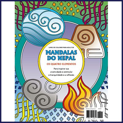 Mandalas do Nepal Ed. 02 - Os Quatro Elementos  - Case Editorial