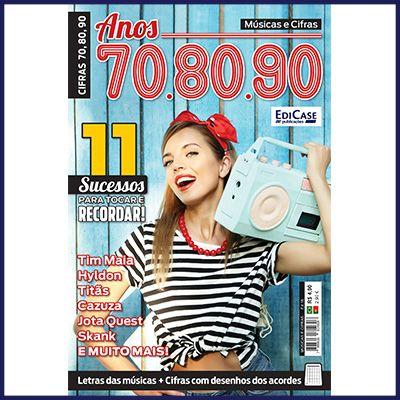 Músicas e Cifras Ed. 18 - Anos 70, 80 e 90  - Case Editorial