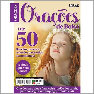 Orações e Preces de Bolso Ed. 01 - Bençãos, Preces e Reflexões  - Case Editorial