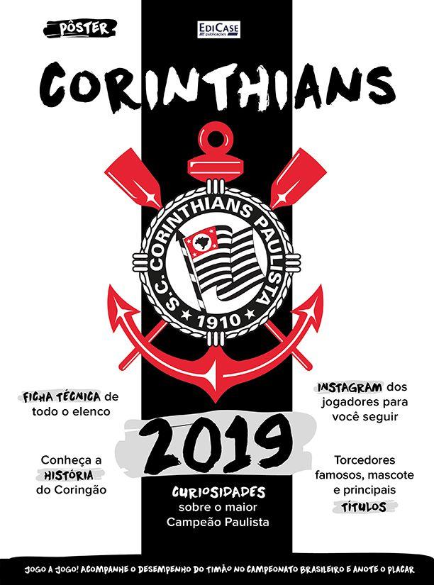 Pôster Corinthians BR Ed. 01 - 2019  - EdiCase Publicações