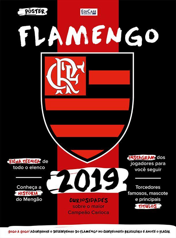 Pôster Flamengo BR 2019 Ed. 01   - EdiCase Publicações
