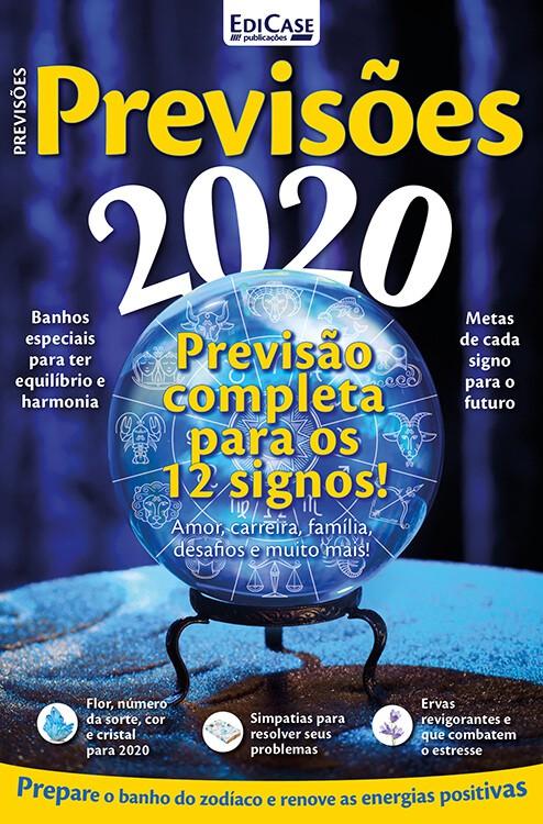 Previsões 2020 Ed. 01 - Previsão Completa Para Os 12 Signos  - EdiCase Publicações