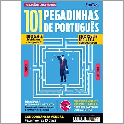 Redação Para Todos Ed. 02 - 101 Pegadinhas de Português  - Case Editorial