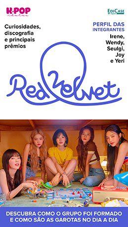 Revista Pôster - Artista de Sucesso Ed. 10 - Red Velvet - PRODUTO DIGITAL (PDF)