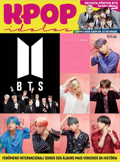 Revista Pôster K-POP Ídolos Ed. 01 - BTS  - EdiCase Publicações