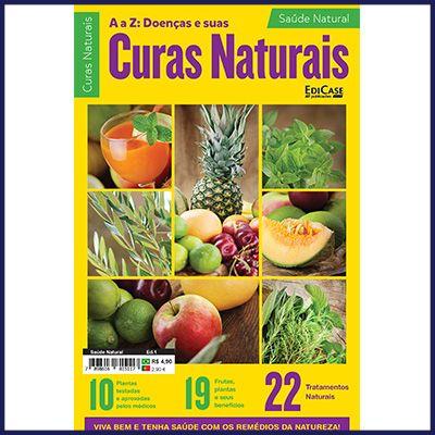 Saúde Natural Ed. 01 - A a Z: Doenças e Suas Curas Naturais  - EdiCase Publicações