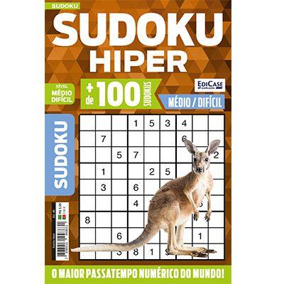 Sudoku Hiper Ed. 45 - Médio/Difícil - Só Jogos 9x9