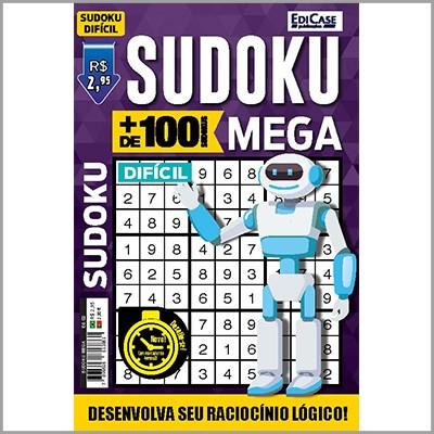 Sudoku Mega - Ed. 02 (Difícil)  - Case Editorial