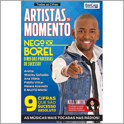 Todas as Cifras Ed. 32 - Artistas do Momento (Nego do Borel)  - Case Editorial