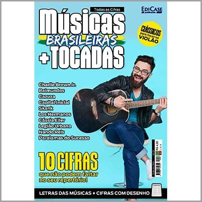 Todas as Cifras Ed. 33 - Músicas Brasileiras + Tocadas  - EdiCase Publicações