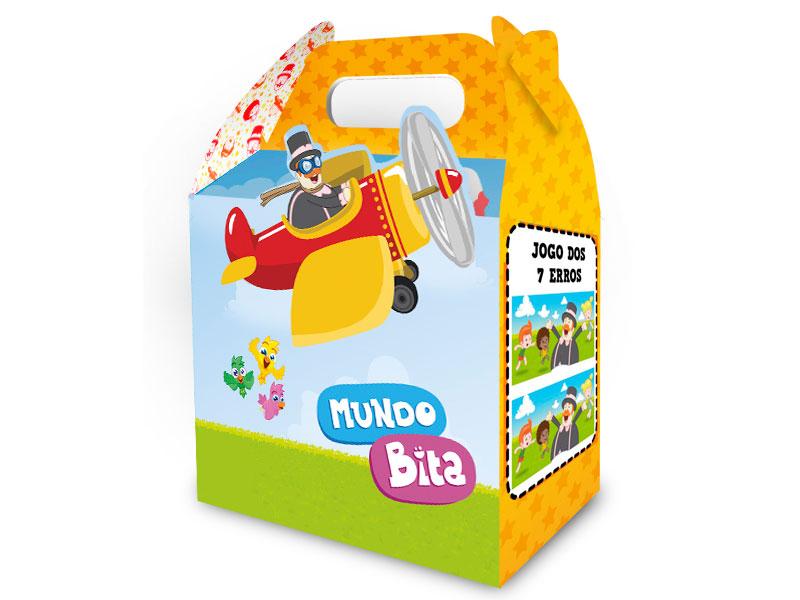 Caixa Surpresa Mundo Bita (8 unid.)  - Lojinha do Bita