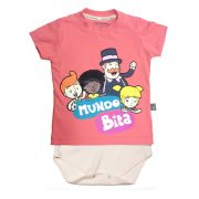 Camiseta-body Mundo Bita