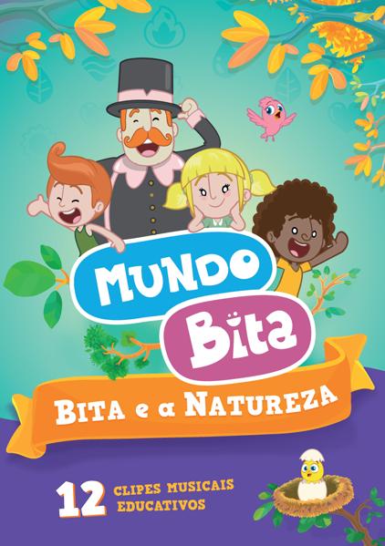 DVD BITA E A NATUREZA  - Lojinha do Bita