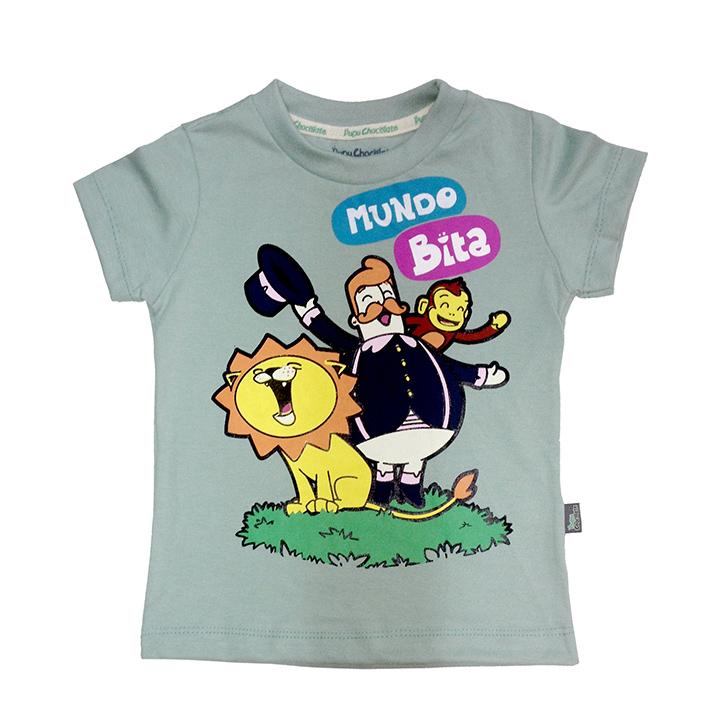 Camiseta Floresta  - Lojinha do Bita