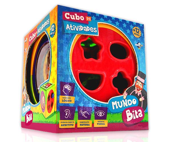 Cubo de Atividades  - Lojinha do Bita