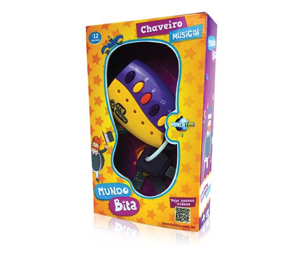 Chaveiro Musical   - Lojinha do Bita