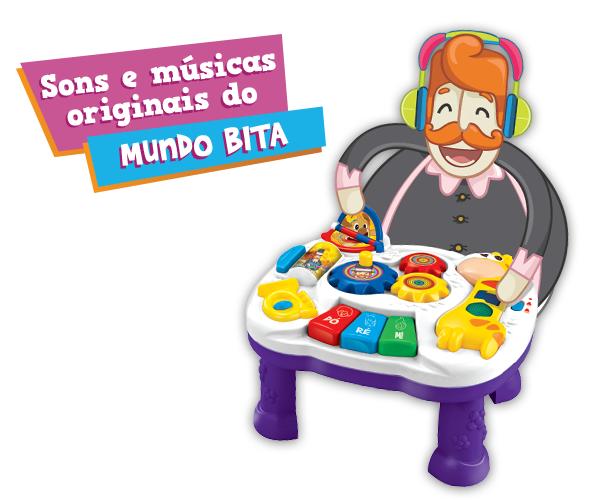 MESINHA MUSICAL  - Lojinha do Bita