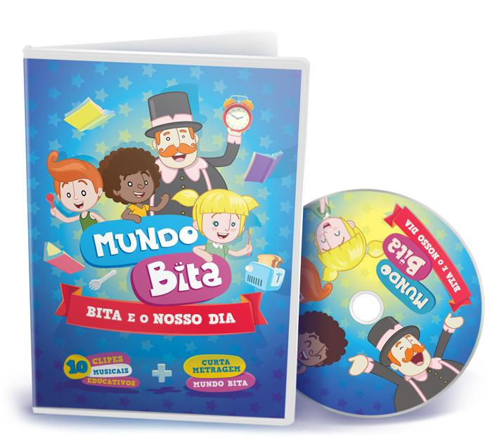 DVD BITA E O NOSSO DIA  - Lojinha do Bita