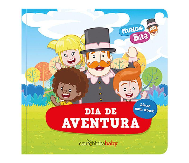 Dia de Aventura (Livro com Abas)  - Lojinha do Bita