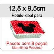 - Rótulo Marmitinha Pequena - Escolha o tipo de material - R609