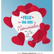 A305N - Adesivo Dia dos Namorados - Dobradura