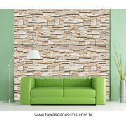 004 - Adesivo Decorativo de parede Canjiquinha irregular - rolo 0,60x3,00m