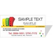 3020 - Placa em PVC 100x50cm - Envie seu arquivo ou escolha opção de arte