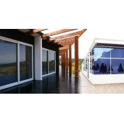 Película Adesiva/Window Filme Preto Fumê p/ Portas, Janelas, vidro e/ou box  (0,75 X 1 Metro)