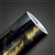 VINIL IMPRIMAX GOLD PEDRAS MÁRMORE GOLDEN BLACK GLOSS 1,22 X 1Mt