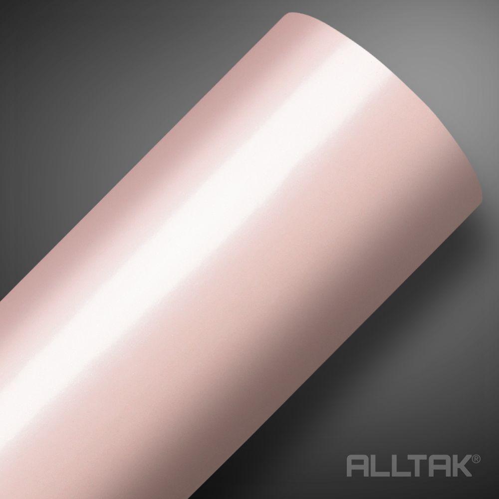 VINIL ALLTAK  PINK PEROLA SATIN 1,38 X 1,00 MTS  - NEW CONTROL