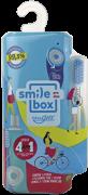 Kit dental SmileBox OralGift Pra Viajar Mini com estojo, fio, escova e creme dental cx 12 unidades