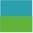 Azul Claro/Verde
