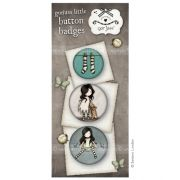 Gorjuss button badges - set 8