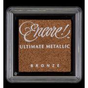 Carimbeira Encore Ultimate Pequena Metallic - Cor Bronze