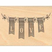 Carimbo Love Bobines - Florilèges Design
