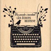 Carimbo Les Écrits Resient - Florilèges Design