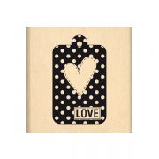 Carimbo Tag Love - Florilèges Design