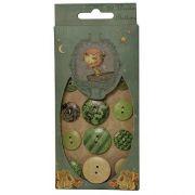 Wooden Buttons - Mirabelle / SNBN002