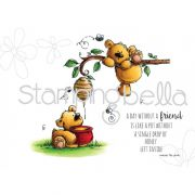 Carimbo - Honeybear Stuffies - Stamping Bella