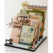 Scrap Decor - Love Scrap / Juju Scrapbook